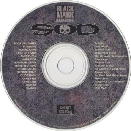 Black Mark Production SOD sampler PROMO CD. Morgana Lefay, Memento Mori, Quorthon (Bathory) etc. s.