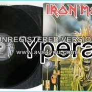 IRON MAIDEN 1st / debut / st LP. Original UK 1980 vinyl w. black inner. EMC 3330. Check all songs