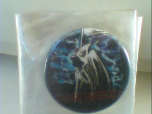 Iron Maiden - Eddie Reaper. Pin Button