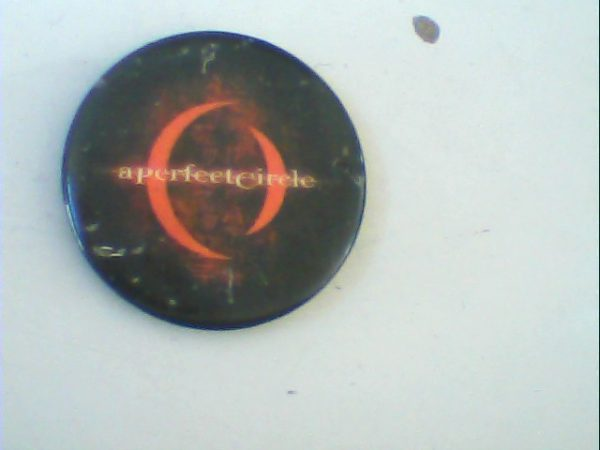 A Perfect Circle Pin Button. Free for orders of £15+
