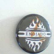 Enojado: Pin Button. Free for orders of £25+