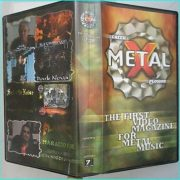 Greek Metal X Plosion VHS Tape. ULTRA RARE, unavailable in ANY other shop! 100% exclusive rare filming! Interviews + Live.
