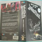 Judas Priest Metalworks 1973 - 1993 VHS. Never been transferred to the DVD format, with rare & never before seen recordings