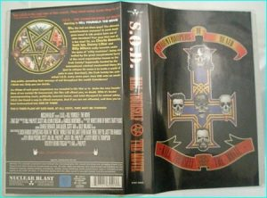 S.O.D (Stormtroopers of Death) kill yourself the movie VHS. Anthrax, Brutal Truth, M.O.D. members.