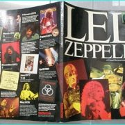 LED ZEPPELIN: A visual documentary BOOK. first pressing of this 1982 book