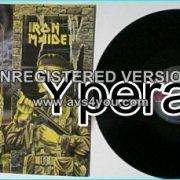 "IRON MAIDEN: Women in Uniform 12"" UK. (Skyhook cover) + Invasion + Phantom of the Opera (live London Marquee 4-7-1980)"