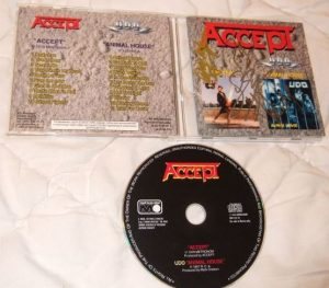 ACCEPT: Accept (S.T dbut) & U.D.O.: Animal House. Russia CDM 598-94CD (2 albums in one disc) official compilation