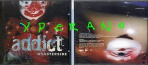 ADDICT: Monster Side CD Promo 1998. Alternative Rock, Indie Rock.