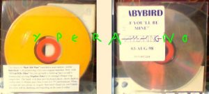 BABYBIRD: If You'll Be Mine PROMO CD. PADCD65 Ultra RARE! Check video