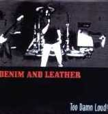 DENIM AND LEATHER: Too Damn Loud! Free for orders of £20+ [Brazilian, Traditional Heavy Metal] Witchfinder General cover