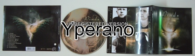 WINDS: Reflections of the I (Avantgarde Records) CD. For fans of Opeth. Amazing!
