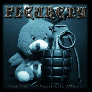 FLEURETY: Department of Apocalyptic Affairs CD. Avant-garde named Black Metal musicians, but different to B.M style