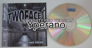 TWO FACE: Gagged and Bound CD Hardcore.