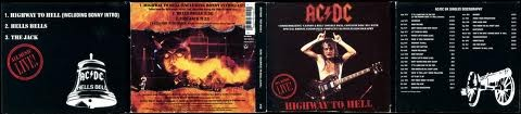 ACDC Highway To Hell (Live) CD Maxi-Single, Double digipak! Tracks 1, 2 are exclusive!