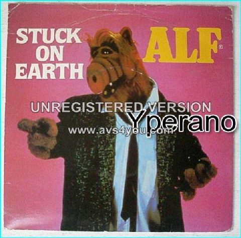 ALF: Stuck on Earth + Cruisin' On Melmac Interstate [Funny little alien creature, funny little record] 7""