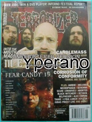 TERRORIZER 131 MAY 05 MESHUGGAH, CANDLEMASS, Nile, Judas Priest. MINT CONDITION.