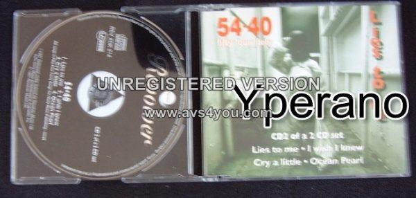 54¢40 : Lies To Me CD2 Mega Canadian alternative rock. RARE VIDEOS (Check video)