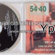 54¢40 : Lies To Me CD1 Mega Canadian alternative rock. RARE VIDEOS (Check video)