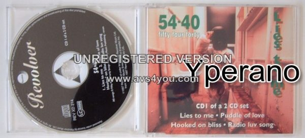54¢40 : Lies To Me CD1 Mega Canadian alternative rock. RARE VIDEOS (Check video)