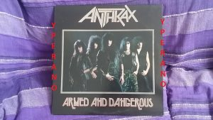 ANTHRAX: Armed And Dangerous 5 TRACKS LP w. Sex Pistols cover Live songs. Megaforce Records. Check videos