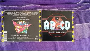 *AB/CD: The Rock n Roll Devil CD. Rare. Accurate tribute to the spirit of AC/DC