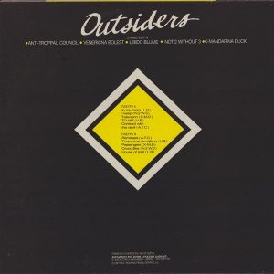 V.A - Outsiders:LP 1985 (Greek Rock). Incl. 3 huge sheets. SUPER RARE