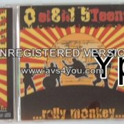 0 EIGHT 5TEENS: Rally Monkey CD Rare Japanese Import with FANTASTIC extra cover versions BONUS / exclusive tracks. Check sample