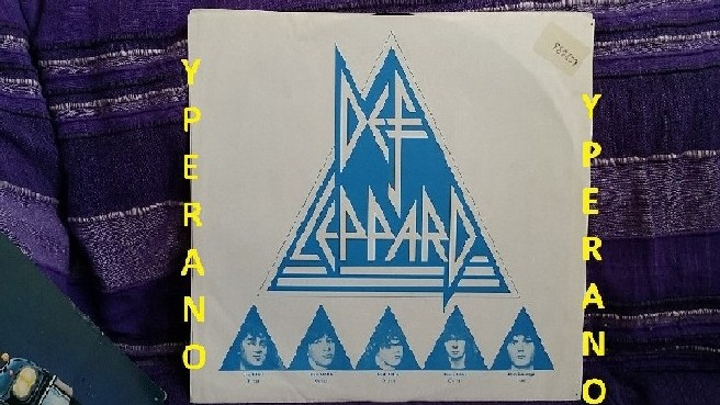 Def Leppard On Through The Night Lp 1980 Canadian