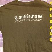 Candlemass: Documents of Doom T-Shirt
