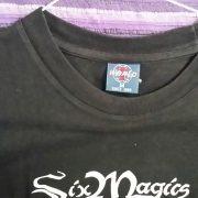 Six Magics T-Shirt. Chilean Power Metal