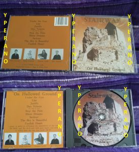 STAIRWAY: On Hallowed Ground CD. Great English Christian N.W.O.B.H.M. Check all samples