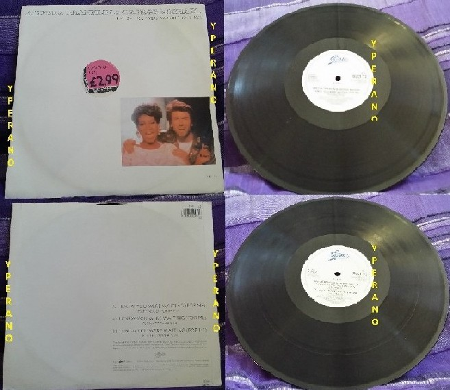 "Aretha Franklin & George Michael: I knew you were waiting for me 12"" (17 minutes of music) Check video!"