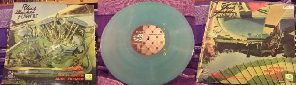 """BLACK MARKET FLOWERS: Thicket 10"""" RARE blue marble colour vinyl (8 songs) different cover. Check samples & video"""