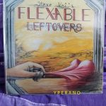 """Steve VAI: Flex-Able Leftovers 10"""" limited to 1000 copies 1984 AKASHIC Records + lyric insert (Steve Vai Newsletter 1)"""