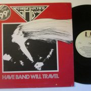 "George HATCHER Band: have band will travel. Limited edition 10"" EP [with John Thomas from BUDGIE] Check samples"