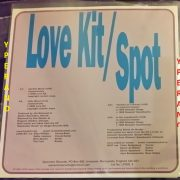Love Kit Spot: split 10 inch vinyl Ltd. to 405 copies. ULTRA RARE. Check samples. power pop, indie punk