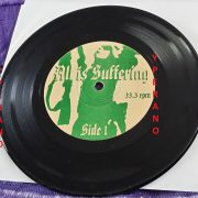 "ALL IS SUFFERING 7"" Ultra Rare US Death Grind. Pressed in 100 copies! Check audio."