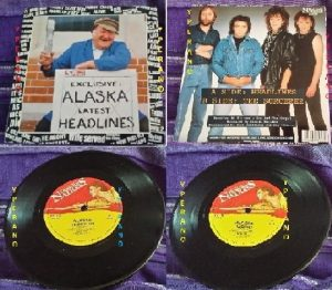 "ALASKA: Headlines 7"" + The Sorcerer RARE 1984. Whitesnake guitarists. Check audio + video"