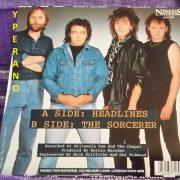 "ALASKA: Headlines 7"" + The Sorcerer RARE 1984. Whitesnake guitarists. Check audio + video"