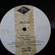 McCOY: Mini Album 1983 LP (LEGACY LLM 10). Used / second hand. NWOBHM a la Samson, Mammoth. + Fleetwood Mac cover.