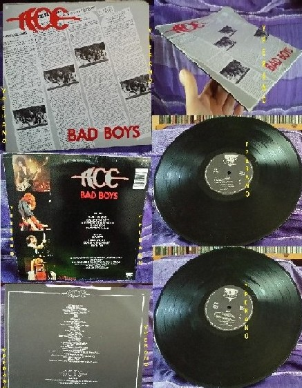 ACE: Bad Boys LP 1986 Heavy Metal + cover The Sweet (Ballroom Blitz). A la Motley Crue Check exclusive videos made by Yperano