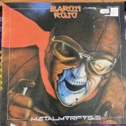 BARON ROJO: Metalmorfosis LP Mausoleum Records. Very N.W.O.B.H.M sounding. Check video
