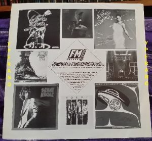 DARK STAR: Real to Reel LP (UK issue, inner, FM Records) Mega N.W.O.B.H.M. / A.O.R classic.