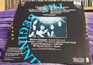 DIAMOND HEAD: Behold The Beginning LP. RARE Heavy Metal Records. Remixed by guitarist Brian Tatler + extra songs.
