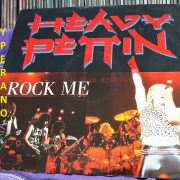"HEAVY PETTIN: Rock Me 12"" produced by Brian May. Top Hard Rock, Heavy Metal. Check video"