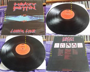 HEAVY PETTIN: Lettin Loose LP 1983 Brian May produced 1983 NWOBHM masterpiece. Vinyl in MINT condition, original UK.