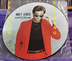 "Huey Lewis & The News: The Heart of Rock & Roll 12"" picture disc w. 4 songs & a Phil Lynott / Thin Lizzy cover. Check videos!"