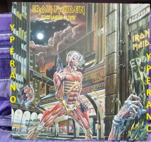 IRON MAIDEN: Somewhere In Time LP UK 1986 original. Check the Full Album!