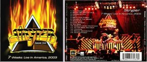 STRYPER: 7 Weeks: Live In America, 2003 CD