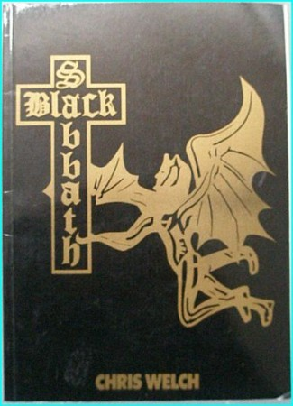 BLACK SABBATH Chris Welch. Used BOOK. Has a black cover, which is different to the normal & was included on a box set of CDs!